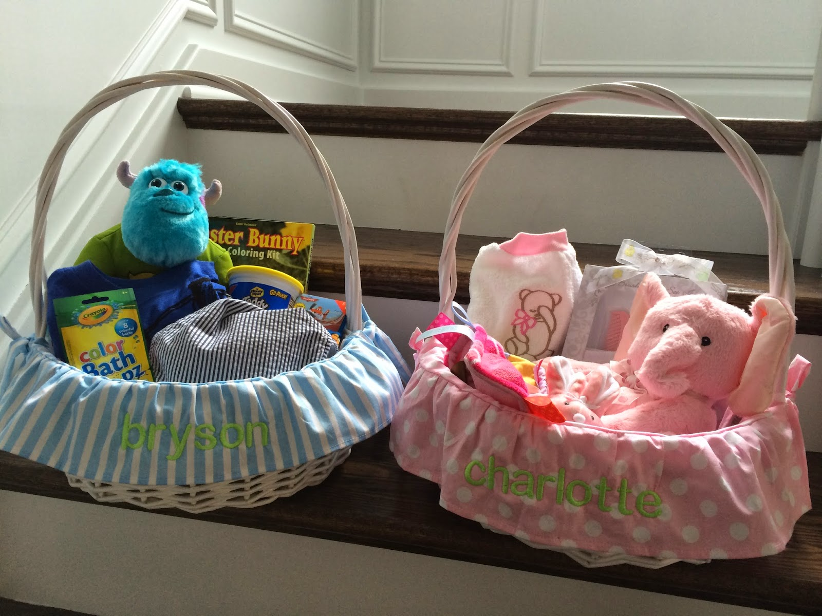 Create an easter basket photo hunt easter baskets and personalized liners negle Images