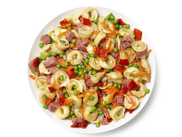 ... Things: Pasta Salad With Salami, Carrots, Peas and Roasted Red Peppers