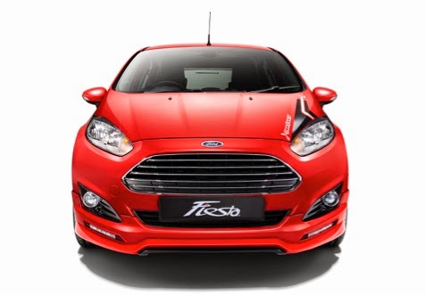 Kinetic Design of the new Ford Fiesta 1.0L