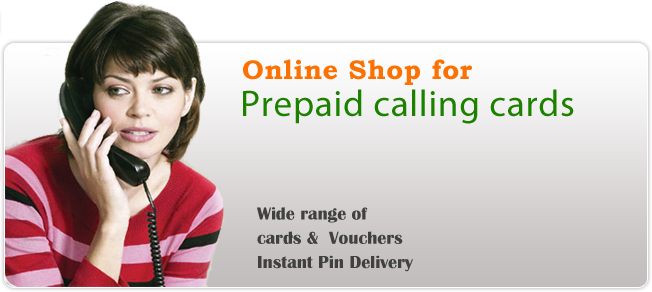 How to buy calling cards online