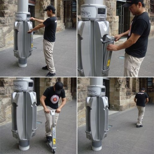 Link Scooter System – Rent, ride and return!