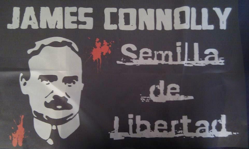 Banderola James Connolly - Semilla de Libertad - 6,80€