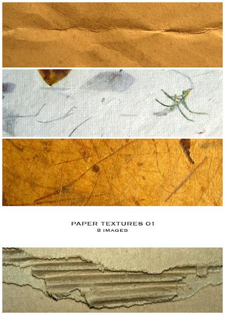 8 texturas de papel