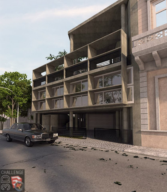 1_Casa Curutchet render challenge august 2013 Jhe-Sibayan
