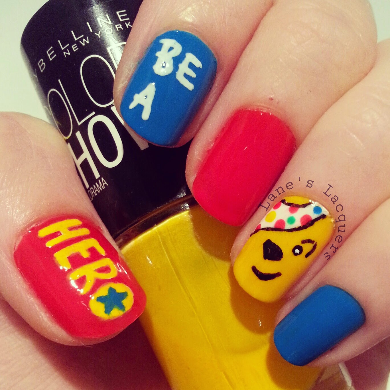 bbc-children-in-need-2014-be-a-hero-pudsey-nail-art (2)