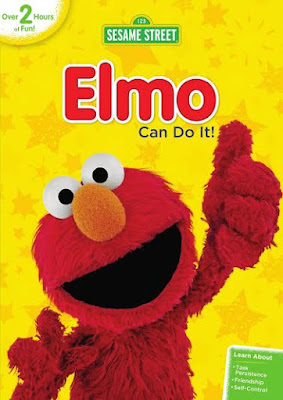 Enter the Sesame Street: Elmo Can Do It! Giveaway . Ends 10/30