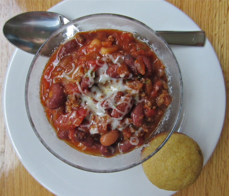 ... Mommy, Big Appetite: Spicy and Sweet Three Bean Slow Cooker Chili