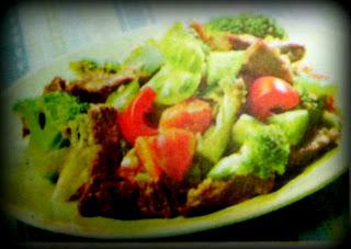 Resep Oseng Brokoli Daging Sapi