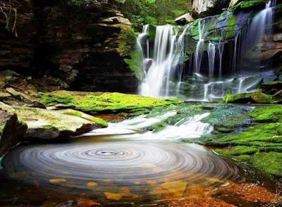 Gambar Pemandangan Alam Air Terjun Tercantik Di Dunia 1400