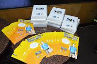 Cartilhas e DVD sobre como Morar com segurança foram distribuídos