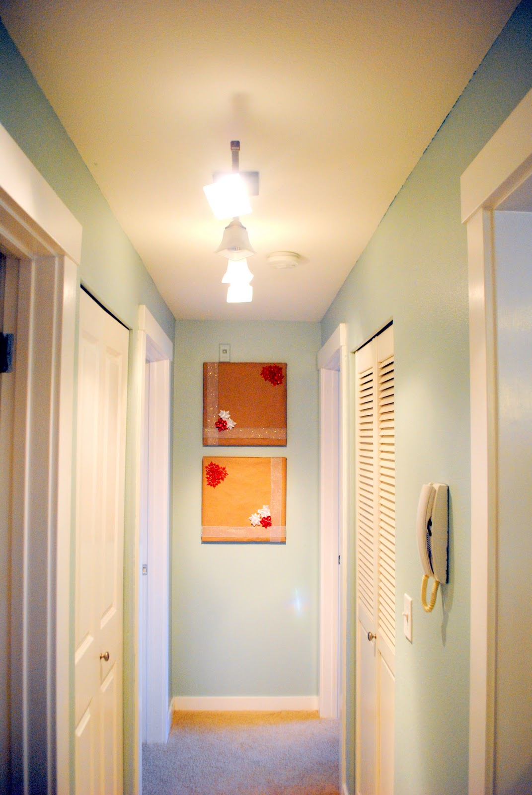Our Emerald City: Hallway Lighting