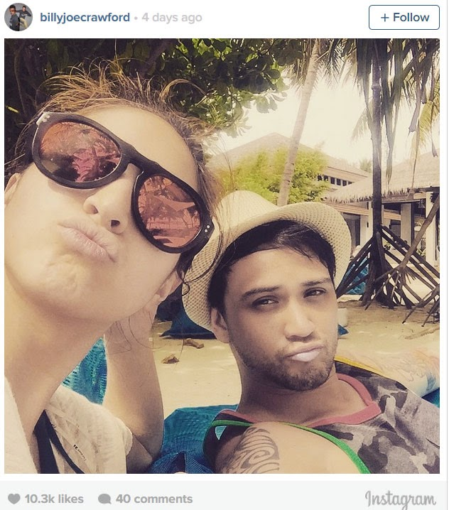 Hot Photos of Coleen Garcia and Billy Crawford on Maldives Shared Online