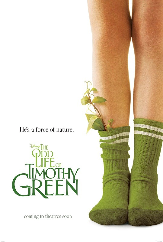 The Odd Life of Timothy Green HD Poster