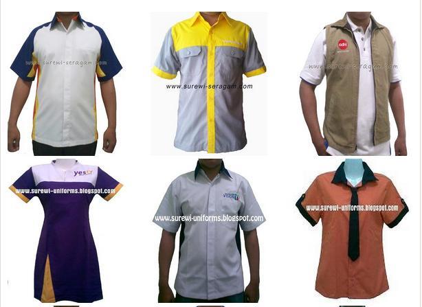 ... segera kunjungi dan dapatkan seragam kerja kantor murah di Surewi