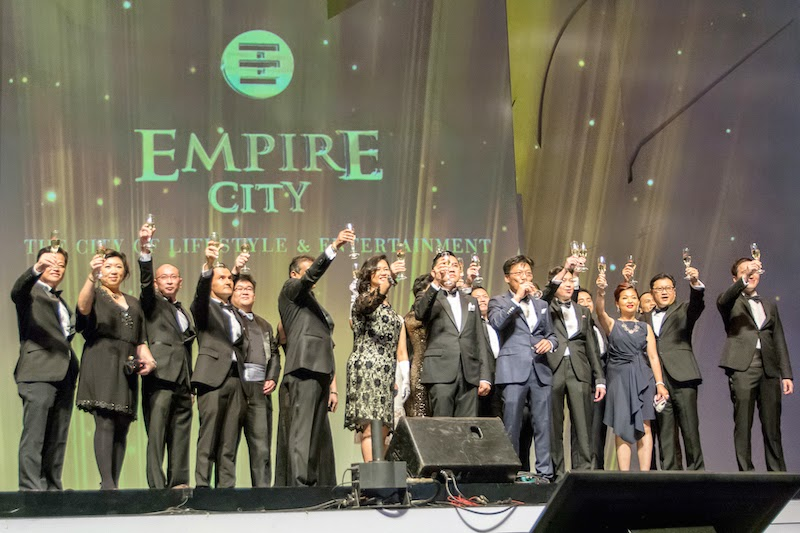 A toast to Empire City!