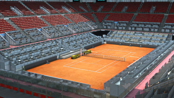 El Mutua Madrid Open 2016, en 3D