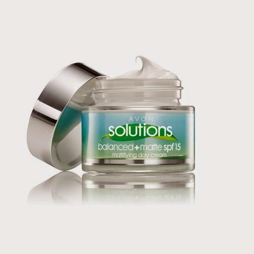 Crema da giorno opacizzante balanced matte di Avon Solutions