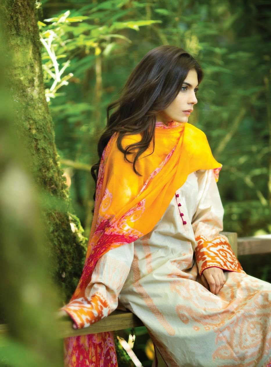 Sana Safinaz Summer lawn collection 2015