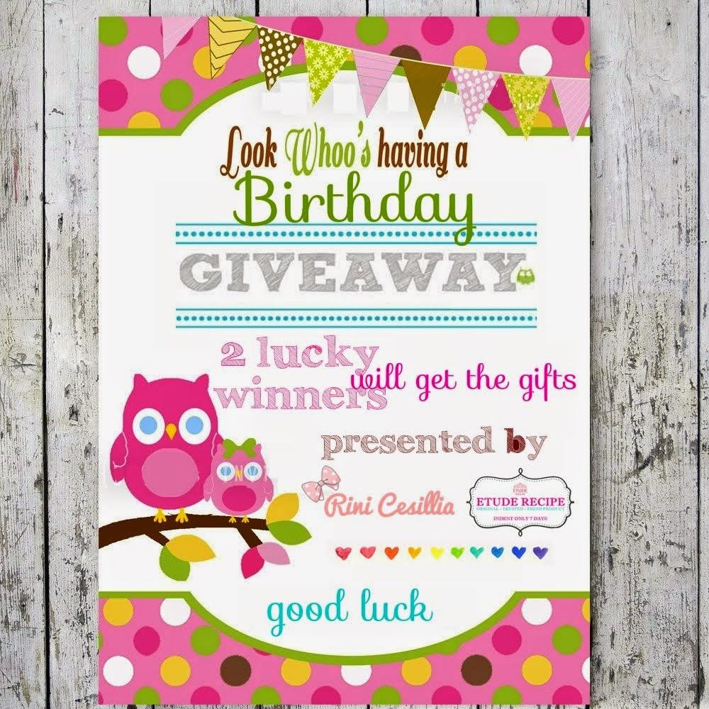 Rini Cesillia Birthday Giveaway