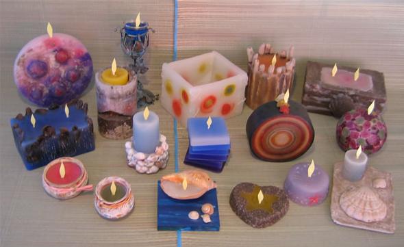 El mundo en colores el color de las velas - Ideas para decorar tu negocio ...