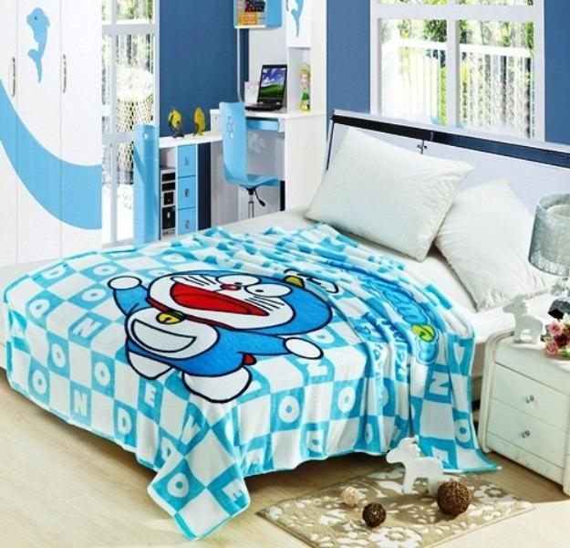 15 desain kamar tidur anak doraemon paling lucu dan unik
