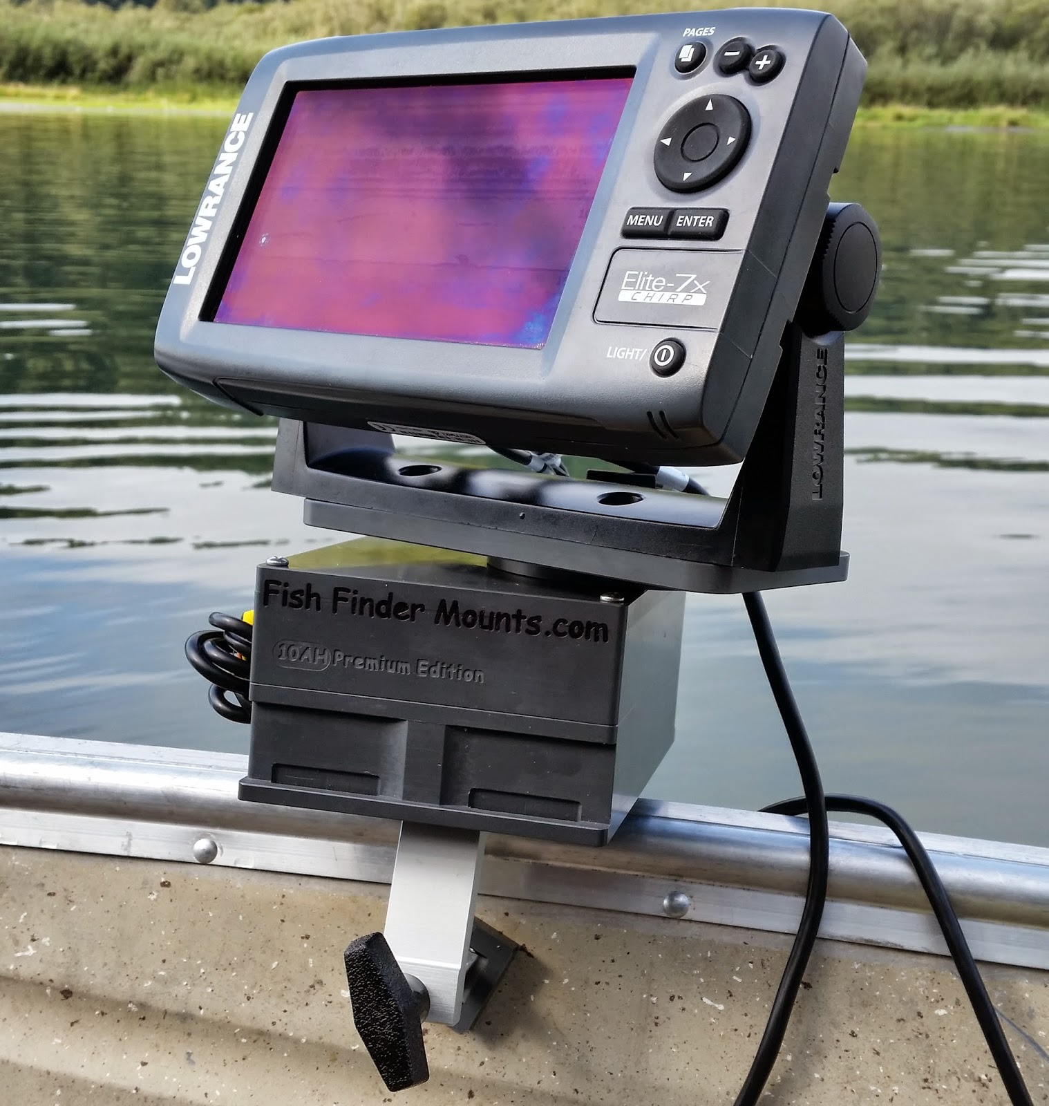 fish finder and transducer mounting solutions a super