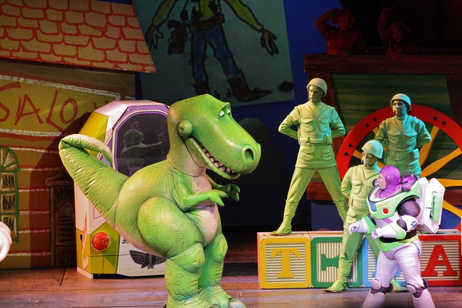 Toy Story The Musical : Hopping through life one day at a time toy story the