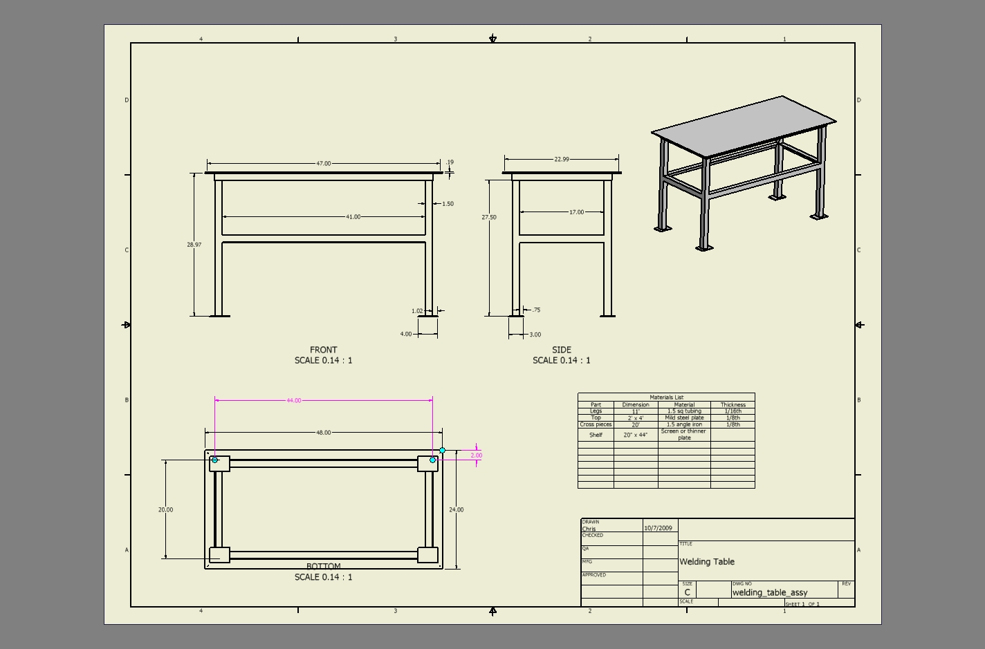 Welding Table Designs round welding table Welding Table Design Welding Table Design Review Weldingweb Welding Forum For Pros And Enthusiasts This Used