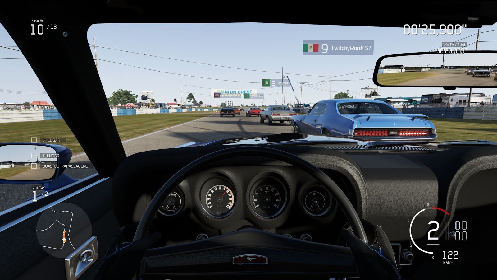 how to change the controls in forza motorsport 4