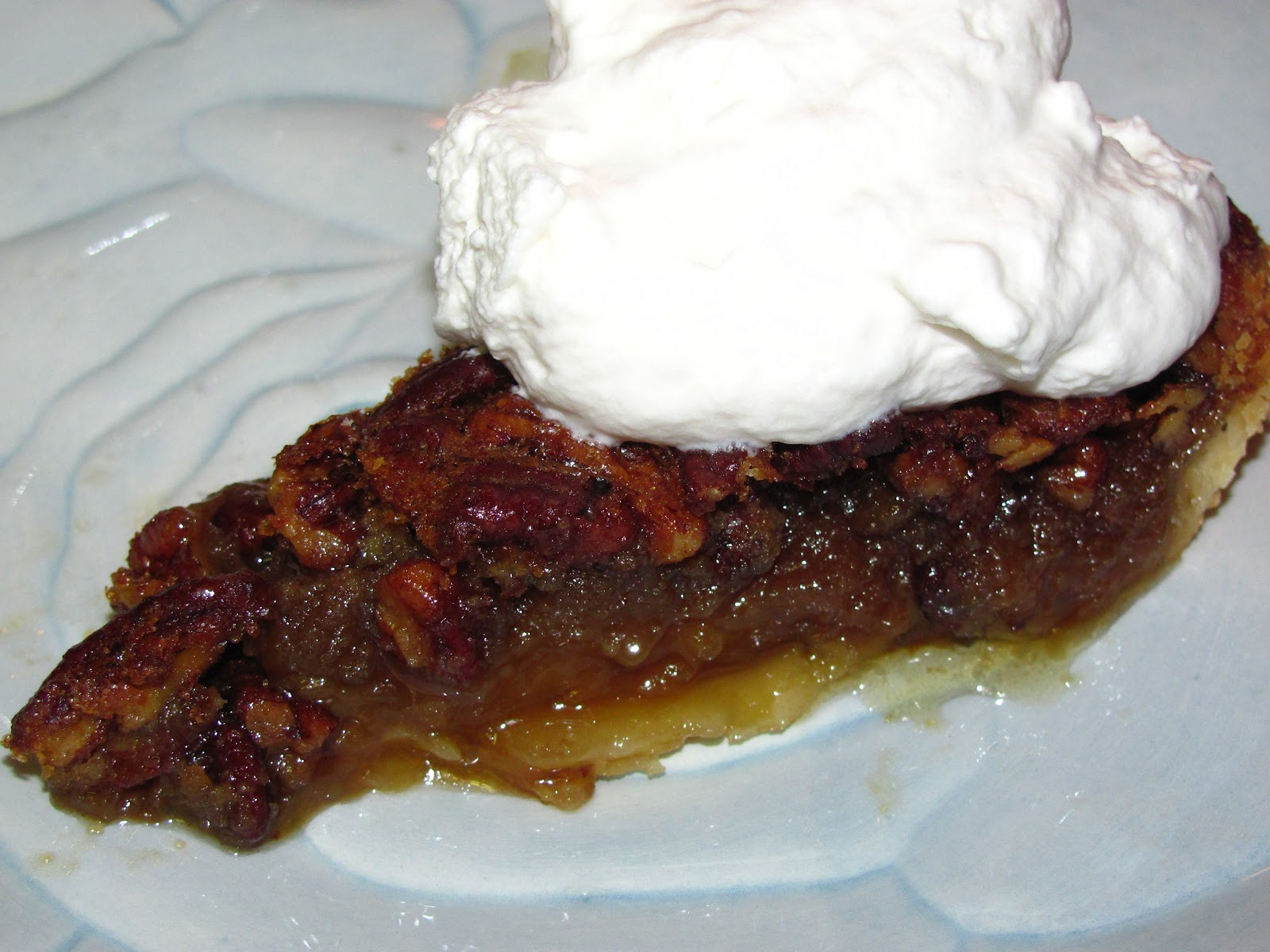 For the Love of Food: Southern Pecan Pie with Bourbon Whipped Cream