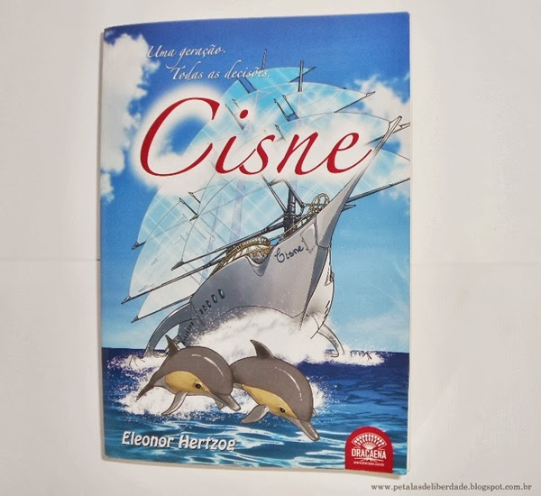Capa, livro, Cisne, Eleonor Hertzog, literatura nacional, fantasia, resenha, trechos, fotos, opnião