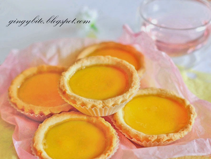 Hong Kong Shortcrust Egg Tart 港式蛋挞