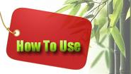 Cara Penggunaan Garam Buluh KLs