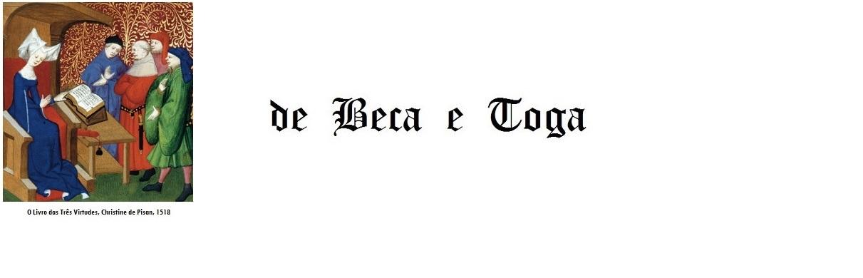 DE BECA E TOGA