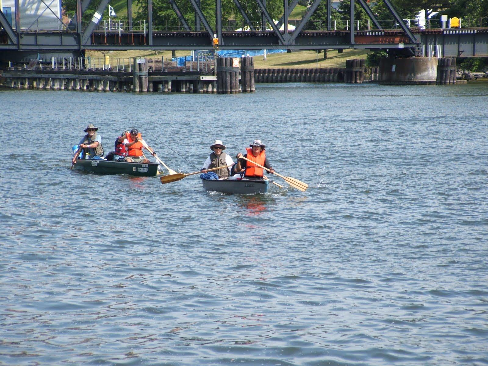 Canoe camp cook fish and travel saint joseph river for Berrien springs fish cam