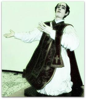 Imagem de São Francisco de Borja, na Igreja Matriz de São Borja.