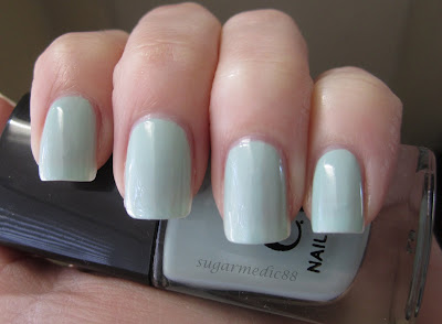 ELF Blue Mist Swatch