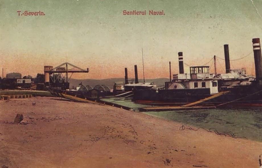 Santierul naval din Turnu Severin in perioada interbelica