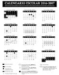 Calendario Escolar 2016-2017