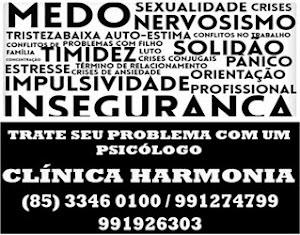 PSICÓLOGO EM ITAPAJÉ - CLÍNICA HARMONIA