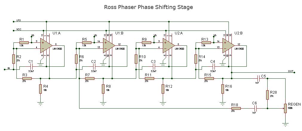 схему ROSS Phaser.