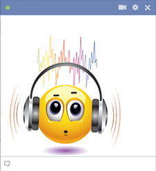 Noisy Music Emoticon