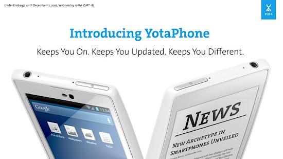 YotaPhone, YotaPhone ponsel dua layar, YotaPhone ponsel layar ganda, YotaPhone ponsel dengan dua layar, YotaPhone ponsel dengan layar ganda, inilah ponsel dengan dua layar