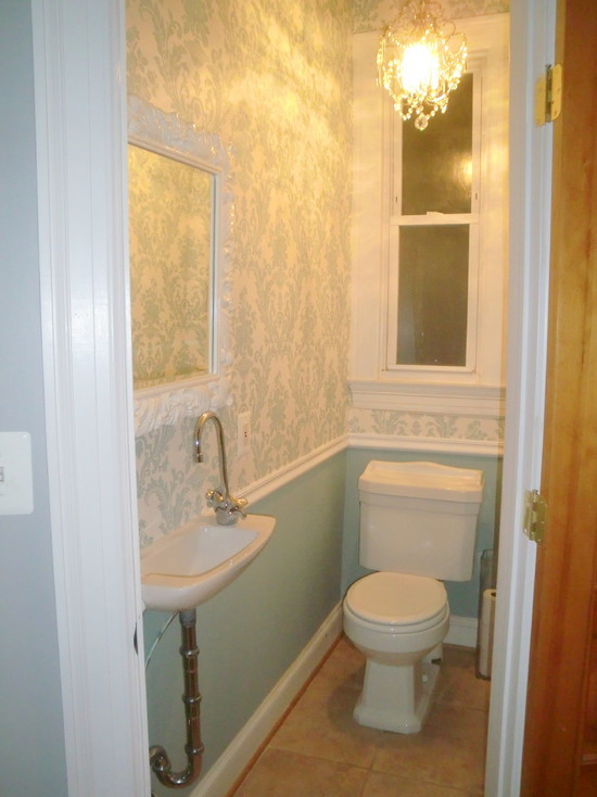 Half bathrooms designs reanimators for Small half bathroom designs