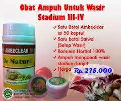 Obat Wasir Stadium 3 dan 4
