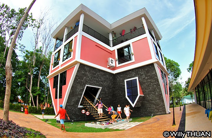Upside Down House Shanghai, China   17 Unique Upside Down Houses Spicytec   Upside  Down. Upside Down Patio Garden ...