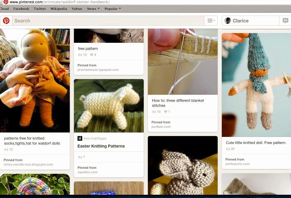 Knitting Novice: Waldorf Knitting Patterns