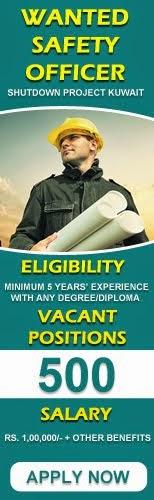 Safety officer Job in kuwait