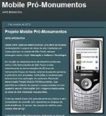 "blog ""Projeto Mobile"""