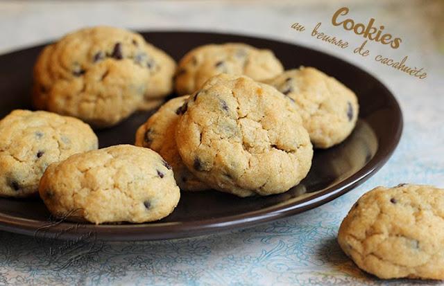 Cookies au beurre de cacahu te il tait une fois la - Cookies beurre de cacahuete ...